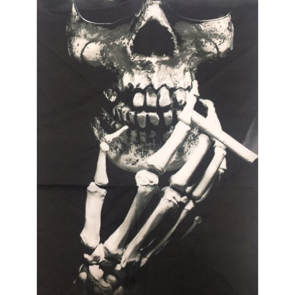 Smoking Skeleton Face Mask Face Cover
